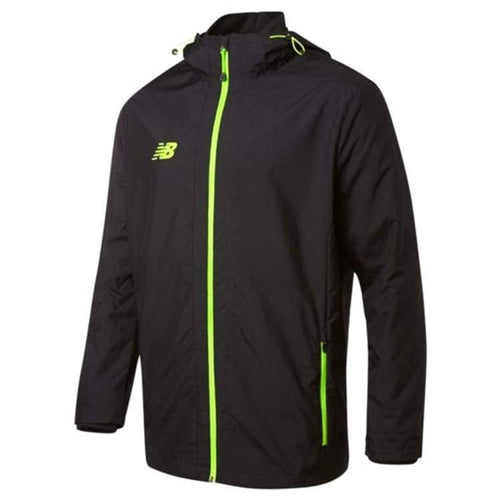 Jackets / Track: New Balance Best Tech Training Woven Jacket Blk Wsjm532Bk - New Balance / S / Black / Black Clothing Football Jackets