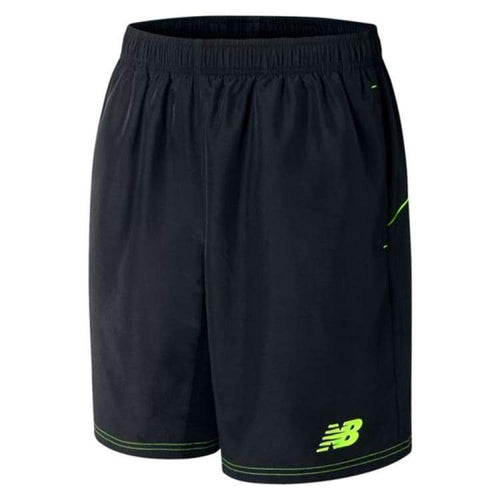 Shorts / Soccer: New Balance Best Tech Training Woven Short Blk Wssm535 - New Balance / S / Black / Black Clothing Football Land Mens |