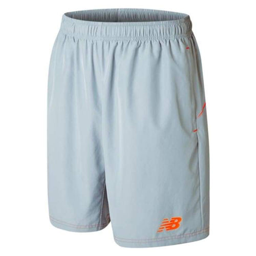 Shorts / Soccer: New Balance Best Tech Training Woven Short Sil Wssm535 - New Balance / S / Silver / Clothing Football Land Mens New Balance