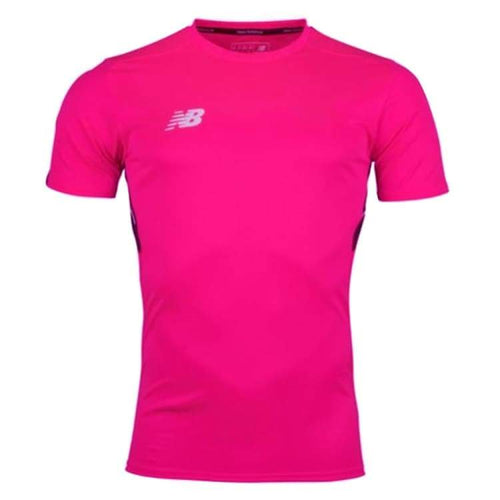 Jerseys / Soccer: New Balance Elite Motion Tech S/s Training Tee - Pink Mt732024 - New Balance / S / Pink / Clothing Football Jerseys