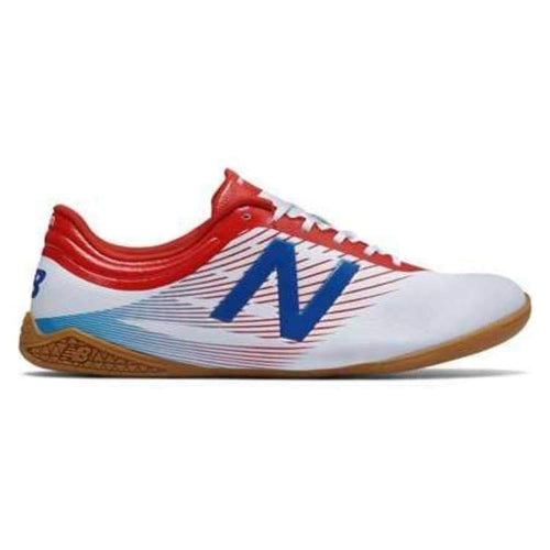 Shoes / Soccer: New Balance Furon 2.0 Dispatch Indoor Msfudiwa - New Balance / Us: 7.5 / White / Football Footwear Land Mens New Balance |