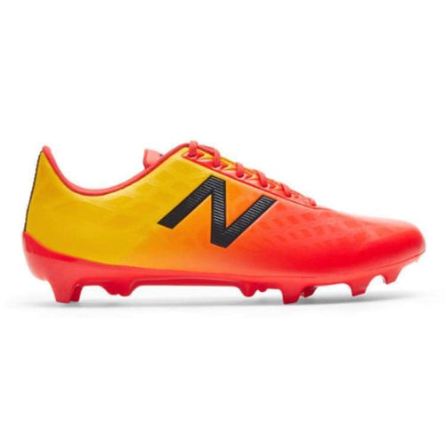 Cleats / Soccer: New Balance Furon 4.0 Dispatch Fg Msfdffa4 - New Balance / Uk: 7.0 / Flame/aztec Gold / Cleats / Soccer Flame/aztec Gold