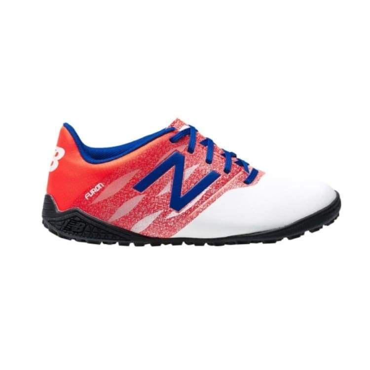 Shoes / Soccer: New Balance Junior Furon Dispatch Tf Kids Jsfudtwo - New Balance / Us: 5.5 / White/red / Football Footwear Kids Land New