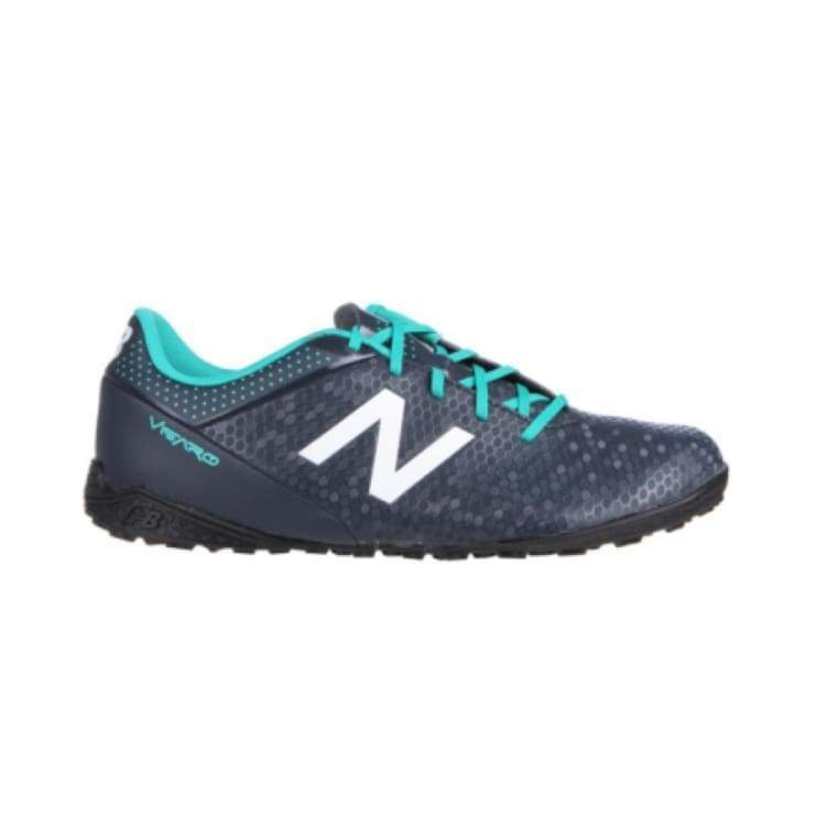 Shoes / Soccer: New Balance Junior Visaro Control Tf Kids Jsvrctbg - Us: 4.5 / Turquoise / New Balance / Football Footwear Kids Land New