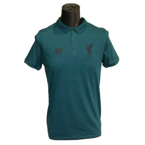 Polos / Short Sleeve: New Balance Lfc 2018 Short Sleeve Tee Mt833432D Teal - New Balance / Teal / S / 1819 Clothing Football Land Liverpool