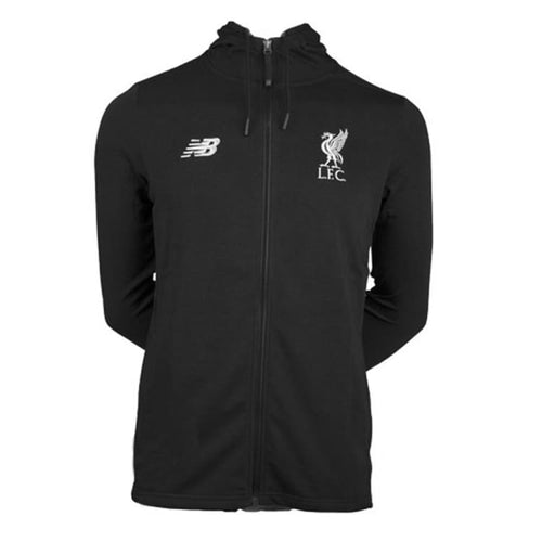 Hoodies & Sweaters: New Balance Lfc 2018 Sw Hoody Mt833435B Black - New Balance / Black / S / 1819 Black Clothing Football Hoodies &