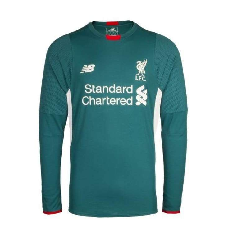 Jerseys / Soccer: New Balance Liverpool 15/16 (A) Gk L/s Wstm548 - New Balance / M / Green / 1516 Away Kit Clothing Football Goalkeeper |