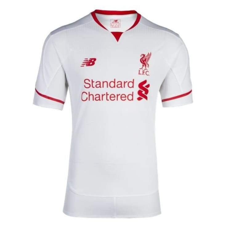 Jerseys / Soccer: New Balance Liverpool 15/16 (A) S/s Wstm546 - New Balance / Xl / White / 1516 Away Kit Clothing Football Jerseys |