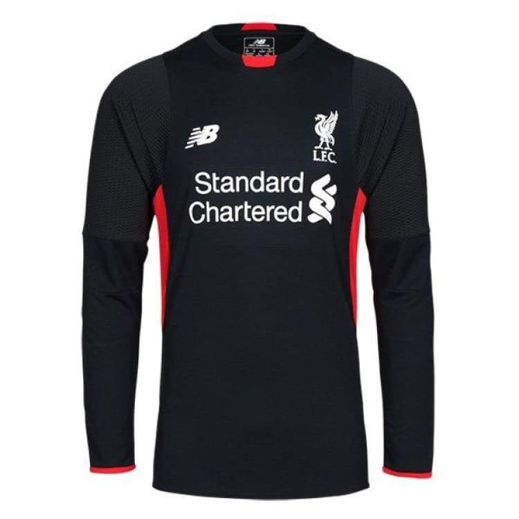 Jerseys / Soccer: New Balance Liverpool 15/16 (H) L/s Gk Wstm544 - New Balance / S / Black / 1516 Black Clothing Football Goalkeeper |