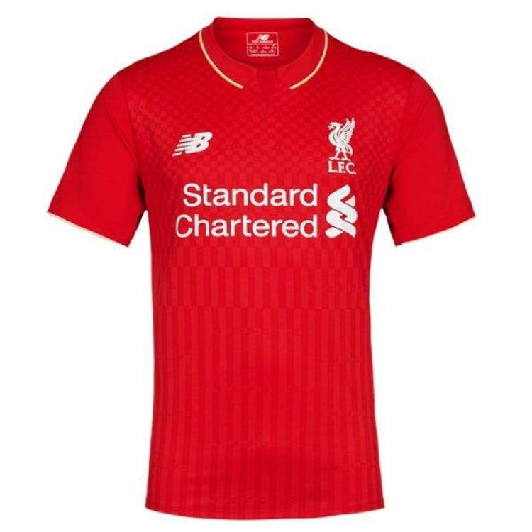 Jerseys / Soccer: New Balance Liverpool 15/16 (H) S/s Wstm542 - New Balance / S / Red / 1516 Clothing Football Home Kit Jerseys |