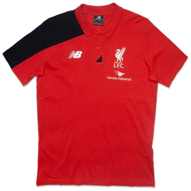 Polos / Short Sleeve: New Balance Liverpool 15/16 Polo Wstm556Rd - New Balance / S / Red / 1516 Clothing Fans Wear Football Land |