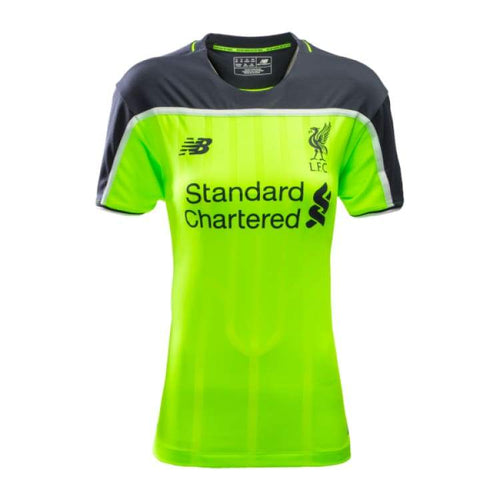 Jerseys / Soccer: New Balance Liverpool 16/17 (3Rd) Women S/s Jersey Wt630003 - New Balance / 10 / Green / 1617 Clothing Football Green