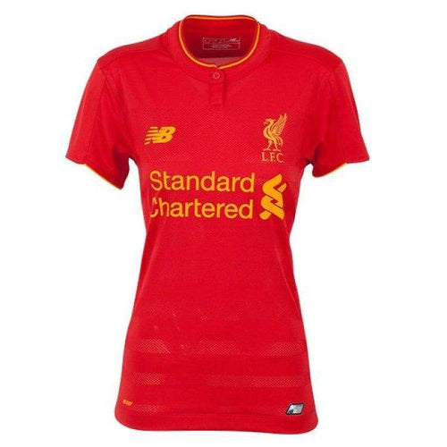 Jerseys / Soccer: New Balance Liverpool 16/17 (H) Women S/s Jersey Wt630001 - New Balance / 10 / Red / 1617 Clothing Football Home Kit