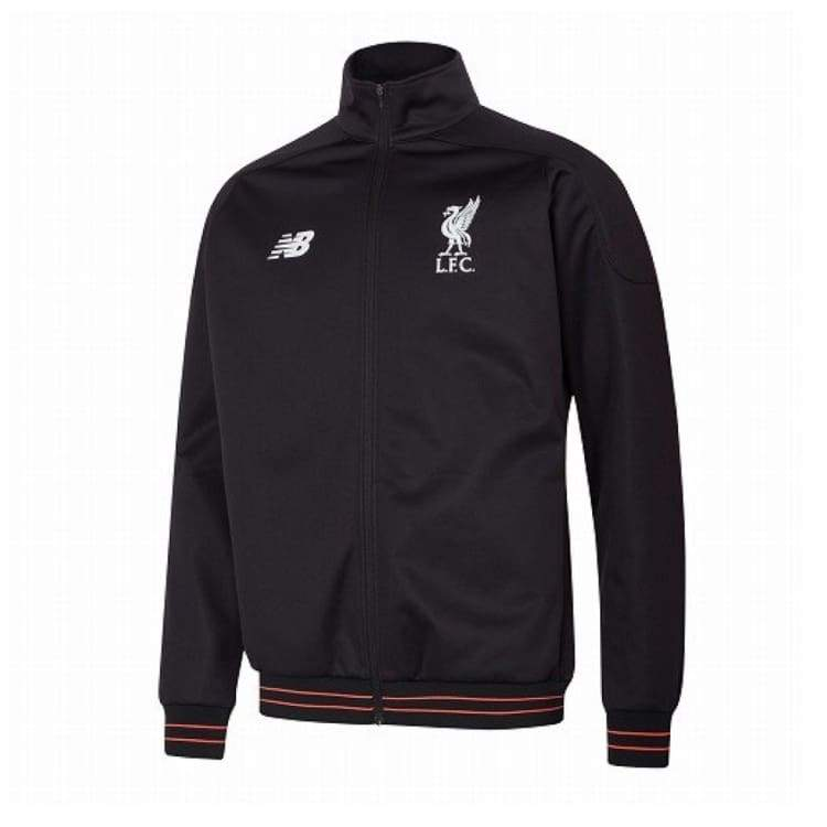 Jackets / Track: New Balance Liverpool 16/17 Training Jacket Mj630003 Bk - New Balance / S / Black / 1617 Black Clothing Football Jackets |