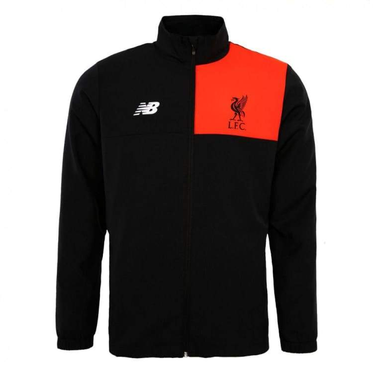 Jackets / Track: New Balance Liverpool 16/17 Training Jacket Mj630004 Blk - New Balance / S / Black / 1617 Black Clothing Football Jackets |