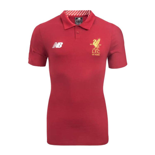 Polos / Short Sleeve: New Balance Liverpool 17/18 Elite Media Motion Polo Red Mt730378 - New Balance / S / 2017 Clothing Fans Wear Football
