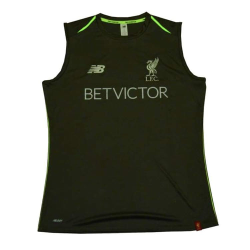 Tanks: New Balance Liverpool 18/19 Elite Trg Vest (Grey) Mv831013Ctr - New Balance / S / Grey / 1819 Clothing Football Grey Land |