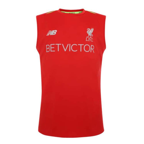 Tanks: New Balance Liverpool 18/19 Elite Trg Vest (Red) - Mv831012Rcr - New Balance / L / Red / 1819 Clothing Football Land Liverpool |