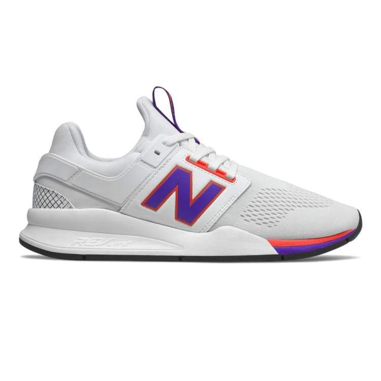 separation shoes 85fc6 5be87 New Balance Liverpool 247 Shoes - Blanc/Violet MS247YY