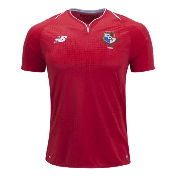 Jerseys / Soccer: New Balance Panama World Cup 2018 (H) S/s Jersey Mt830343 - New Balance / S / Red / 2018 2018 Fifa World Cup 2018 World