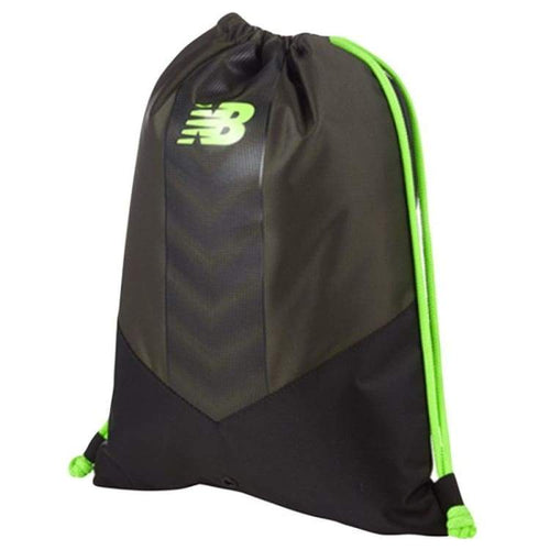 Bags / Sack Pack: New Balance Team Gymbag Black Ntbgymb7 Mkg - New Balance / Black / Accessories Bags Bags / Sack Pack Black Football |