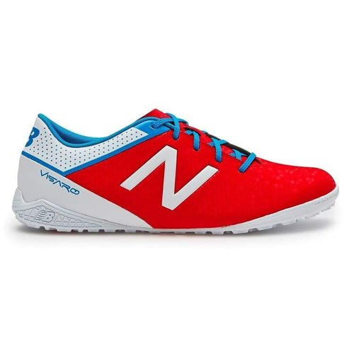 Shoes / Soccer: New Balance Visaro Control Tf Msvrctaw - New Balance / Us: 7.5 / Atomic / Atomic Football Footwear Land Mens |