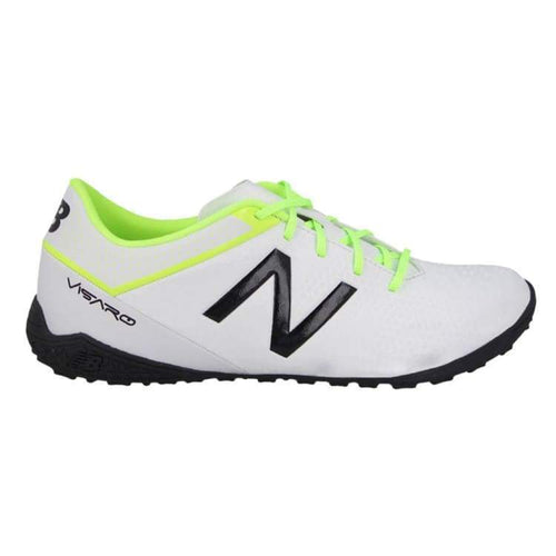 Shoes / Soccer: New Balance Visaro Control Tf Msvrctwt D - New Balance / Us: 7.0 / White / Football Footwear Land Mens New Balance |