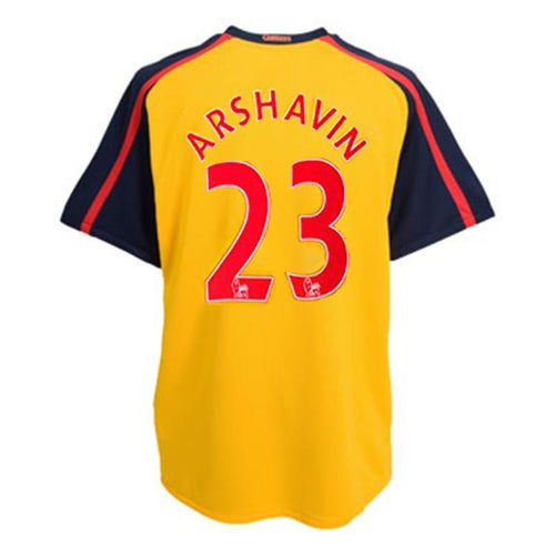 Jerseys / Soccer: Nike Arsenal 08/09 (A) S/S 287538-716 #23 ARSHAVIN - Nike / M / Yellow / ARSENAL, Away Kit, Clothing, Football, Jerseys |