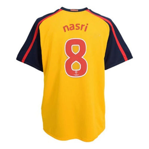 Jerseys / Soccer: Nike Arsenal 08/09 (A) S/S 287538-716 #8 NASRI - Nike / M / Yellow / ARSENAL, Away Kit, Clothing, Football, Jerseys |