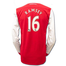 Jerseys / Soccer: Nike Arsenal 10/11 (H) L/S 386822-620 #16 RAMSEY - Nike / L / Red / 0910, ARSENAL, Clothing, Football, Home Kit |