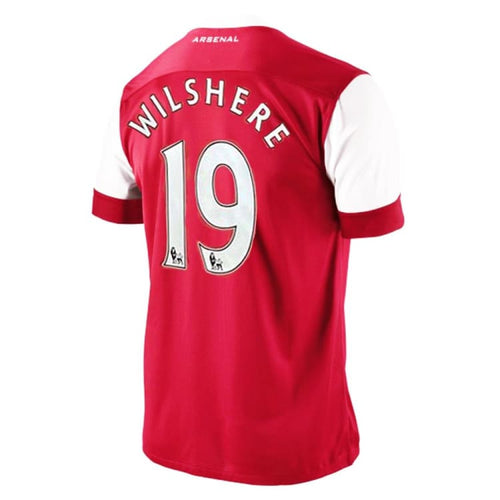 Jerseys / Soccer: Nike Arsenal 10/11 (H) S/S 386821-620 #19 WILSHERE - Nike / S / Red / 1011, ARSENAL, Clothing, Football, Home Kit |