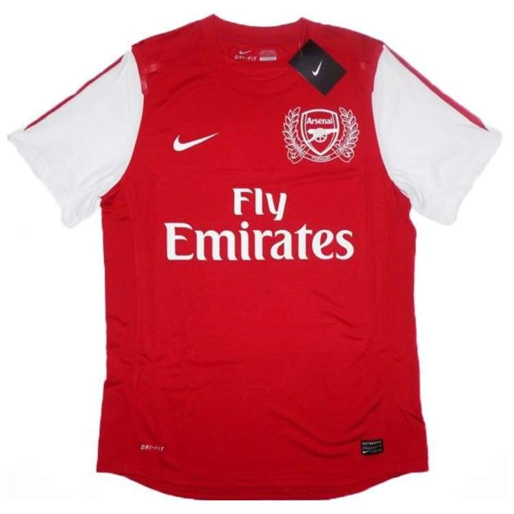 Jerseys / Soccer: Nike Arsenal 11/12 (H) Player Issue S/s Jersey 426420-620 - Nike / Xl / Red / 1112 Arsenal Clothing Football Home Kit |