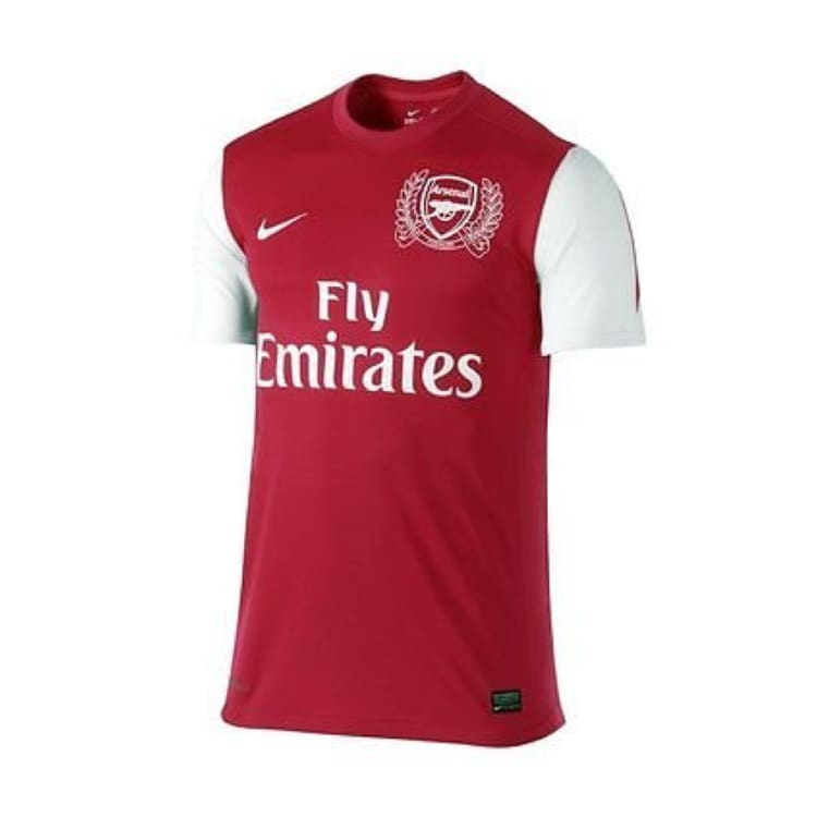 Jerseys / Soccer: Nike Arsenal 11/12 (H) S/S 423980-620 - Nike / L / Red / ARSENAL Clothing Football Home Kit Jerseys |