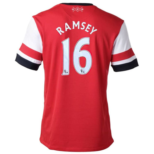 Jerseys / Soccer: Nike Arsenal 12/14 (H) S/S Jersey 479302-620 #16 RAMSEY - Nike / L / Red / ARSENAL, Clothing, Football, Home Kit, Jerseys