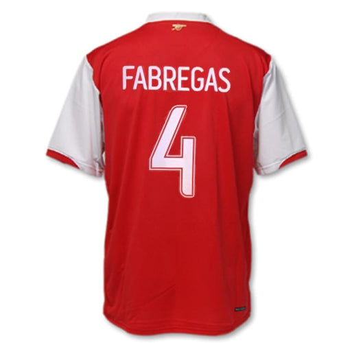 Jerseys / Soccer: Nike Arsenal 2006-2008 (H) S/S 146769-614 #4 FABREGAS - 0608, ARSENAL, Clothing, Football, Home Kit |