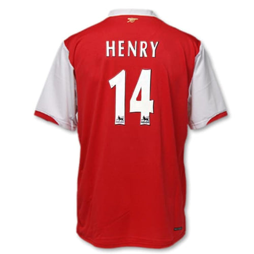 Jerseys / Soccer: Nike Arsenal 2006-2008 (H) S/S 146769-616 #14 HENRY - Nike / L / Red / 0608, ARSENAL, Clothing, Football, Home Kit |