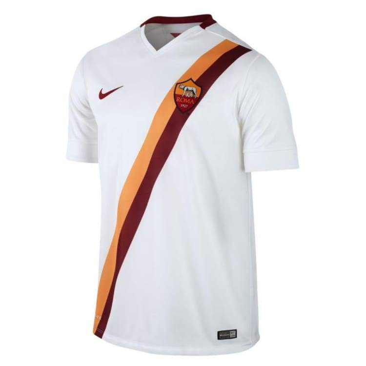Jerseys / Soccer: Nike As Roma 14/15 (A) S/s 635806-106 - Nike / S / White / 1415 As Roma Away Kit Clothing Football |