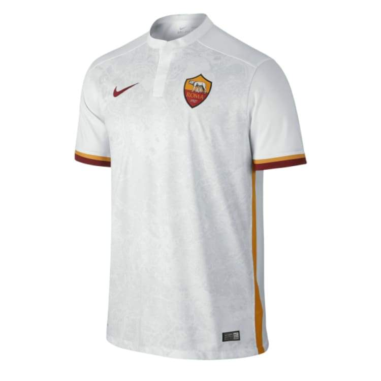 Jerseys / Soccer: Nike As Roma 15/16 (A) S/s 658918-106 - Nike / L / White / 1516 As Roma Away Kit Clothing Football |