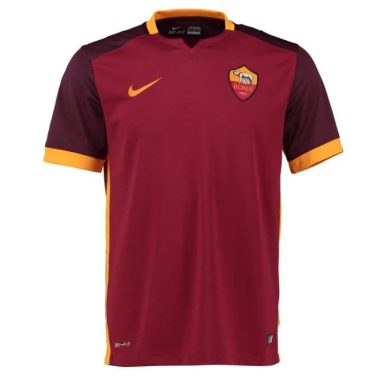 Jerseys / Soccer: Nike As Roma 15/16 (H) S/s 658924-678 - Nike / Xl / Red / 1516 As Roma Clothing Football Home Kit |