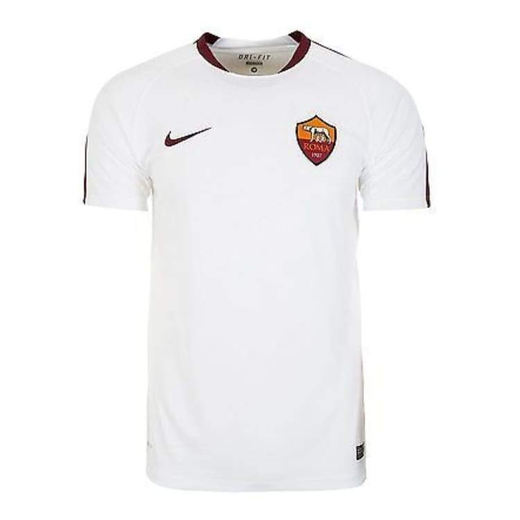 Jerseys / Soccer: Nike As Roma 15/16 Training Shirt Whtie 688069-100 - Nike / L / White / 1516 As Roma Clothing Jerseys Jerseys / Soccer |