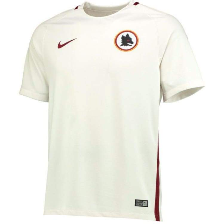 Jerseys / Soccer: Nike As Roma 16/17 (A) S/s 776962-001 - Nike / S / White / 1617 As Roma Away Kit Clothing Football |