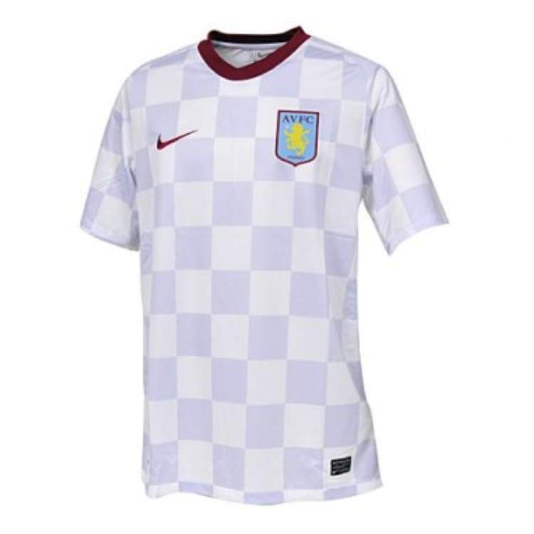 Jerseys / Soccer: Nike Aston Villa 11/12 (A) S/s 419772-105 - S / White / Nike / Clothing Football Jerseys Jerseys / Soccer Land |