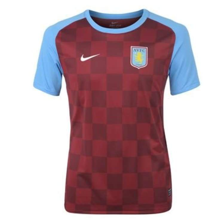 Jerseys / Soccer: Nike Aston Villa 11/12 (H) S/s 419772-677 - S / Wine / Blue / Nike / Clothing Football Jerseys Jerseys / Soccer Land |