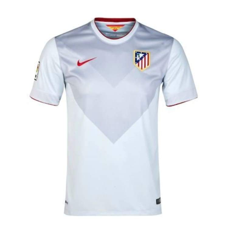 Jerseys / Soccer: Nike Atletico Madrid 14/15 (A) S/s 618809-044 - Nike / White / S / 1415 Atletico Madrid Away Kit Clothing Football |