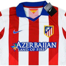 Jerseys / Soccer: Nike Atletico Madrid 14/15 (H) L/s Match 613267-648( With Torres & 2 Badge ) - 1415 Atletico Madrid Clothing Football Home