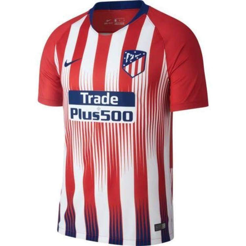 Jerseys / Soccer: Nike Atletico Madrid 18/19 (H) S/s 918985-612 - Nike / S / Blank / 1819 Atletico Madrid Clothing Football Home Kit |