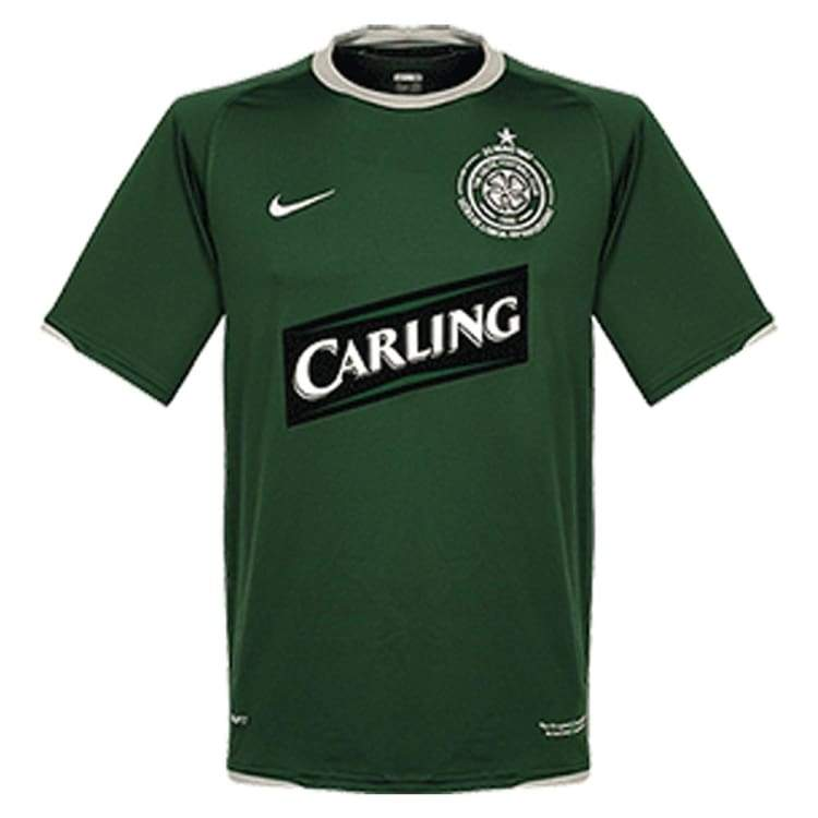 Jerseys / Soccer: Nike Celtic 07/08 Away S/s Jersey Sssco01070A - Nike / L / Green / 0708 Away Kit Celtic Clothing Football |