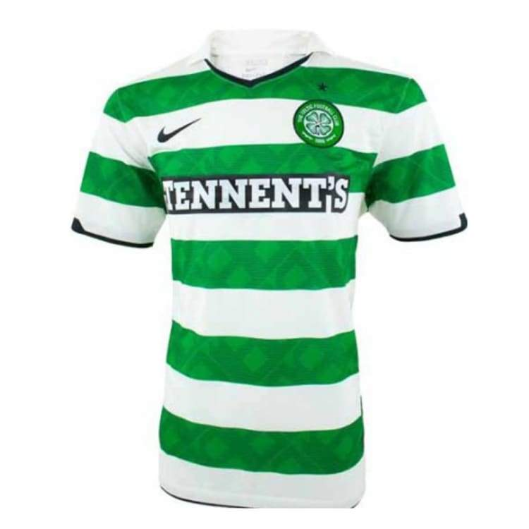 Jerseys / Soccer: Nike Celtic 10/11 Home S/s Jersey 381813-378 - Nike / S / Green / 1011 Celtic Clothing Football Green |