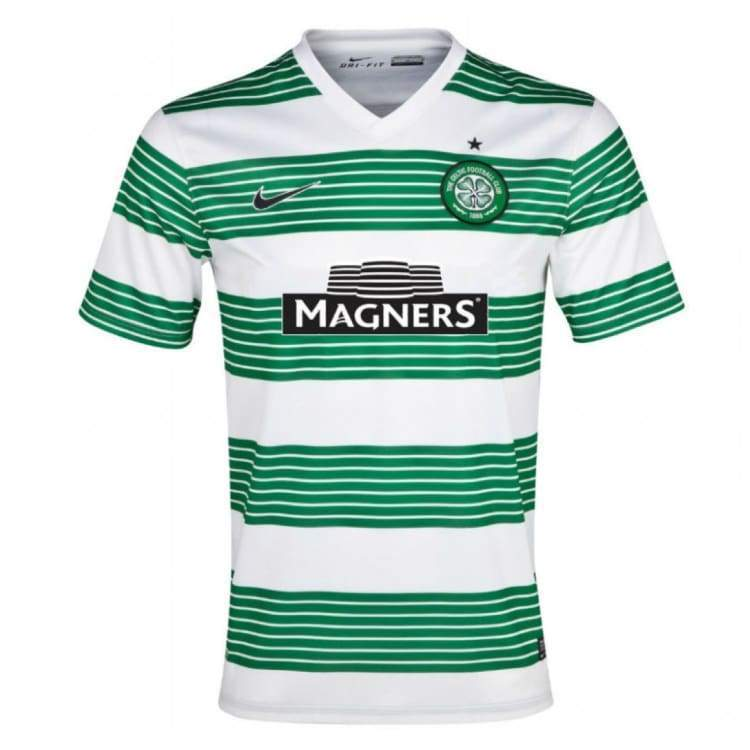 Jerseys / Soccer: Nike Celtic 13/14 Home S/s Jersey 544854-106 - Nike / S / Green / 1314 Celtic Clothing Football Green |
