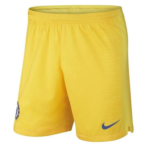 Shorts / Soccer: Nike Chelsea 18/19 Away Shorts Yellow 919181-719 [Mens] - Nike / S / Yellow / 1819 Away Kit Chelsea Clothing Football |